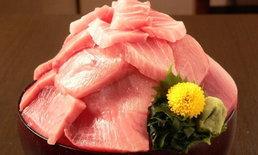 ราคาไม่ถึง 500 (บาท)! บุฟเฟ่ต์ซาชิมิร้าน Taikochaya ที่ตักเองได้แบบไม่อั้น