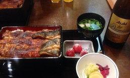 ลิ้มรสปลาไหลย่าง ที่ร้าน Kanda Kikuwa กลางกรุงโตเกียว