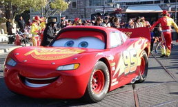 Lightning McQueen จากภาพยนตร์ Cars เตรียมโลดแล่นในพาเหรดของ Tokyo Disney Resort