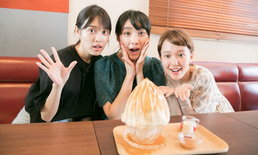 """Cafe Lumiere"" แห่งเมืองคิชิโจจิ กับเมนูของหวานที่ผสานทั้งไฟและน้ำแข็ง"