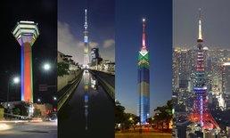 ตึกและสิ่งก่อสร้างในญี่ปุ่น ร่วมฉลองนับถอยหลัง 2020 Tokyo Summer Olympic