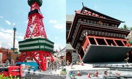 สภาพ Legoland ที่ญี่ปุ่นหลังไต้ฝุ่นเข้า น่าไปเที่ยวกว่าเดิมอีก!
