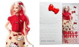 งานลิมิเต็ดจึงบังเกิด เมื่อตุ๊กตา Barbie มาเจอกันกับ HELLO KITTY มี 1,000 ชิ้นเท่านั้น