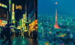 """""""ภาพถ่ายกรุงโตเกียว ยามค่ำคืน"""" สวยงามจนต้องเซฟภาพเก็บไว้เลย"""