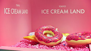 """อลังการและหวานให้พอ! กับป็อปอัพอีเวนต์สีชมพู๊ชมพู """"Tokyo Ice Cream Land"""""""