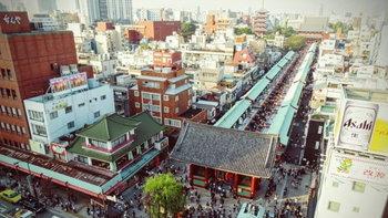 จุดชมวิวสวยมากย่านอาซากุสะ(asakusa)โตเกียว มุมลับที่ยังไม่ค่อยมีคนรู้จัก