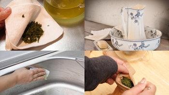 วิธีการนำกากชาเขียวมาใช้ประโยชน์ในรูปแบบที่คนไทยไม่ค่อยรู้