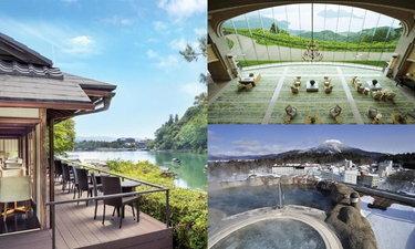 10 โรงแรมทั่วญี่ปุ่นวิวหลักล้าน