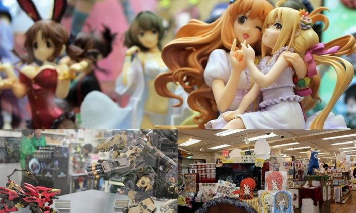 โมเดลยันฟิกเกอร์! แวะร้านของสะสมจากการ์ตูน Kotobukiya Akihabara Store