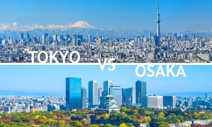 โตเกียว vs โอซาก้า เที่ยวเมืองไหนดี?