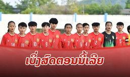 ລາວ ພົບ ໄທ : ເບິ່ງຖ່າຍທອດສົດການແຂ່ງຂັນນັດຊີງຊະນະເລີດ AFF U-15 Girls' Championship 2019