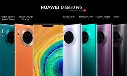 ເປີດໂຕສະມາດໂຟນຮຸ່ນໃຫຍ່ Huawei Mate 30 ແລະ Mate 30 Pro ຢ່າງເປັນທາງການທີ່ເຢຍລະມັນ