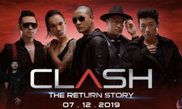 """ກັບມາລາວອີກຄັ້ງ ໃນຮອບ 10 ປີ ກັບ """"Clash"""" ວົງຣັອກລະດັບຕຳນານຈາກປະເທດໄທ"""