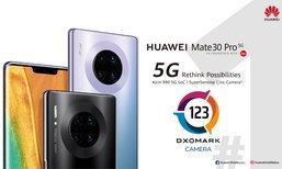 DXOMARK ຍົກໃຫ້ HUAWEI Mate 30 Pro 5G ເປັນທີ 1 ຂອງໂລກ ສະມາດໂຟນກ້ອງສຸດເທບ ດ້ວຍຄະແນນ 123