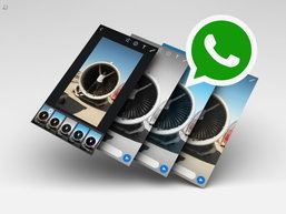 WhatsApp ອອກອັບເດດໃນ iPhone ສາມາດໃສ່ຟິວເຕີໃຫ້ຮູບພາບ, ວິດີໂອ ແລະ ພາບເຄື່ອນໄຫວໄດ້ແລ້ວ