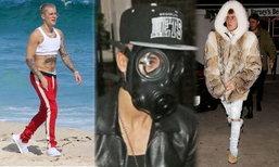 ລວມ 12 ແຟຊັ່ນແບບບໍ່ສົນໂລກຂອງ Justin Bieber