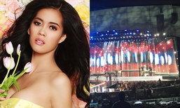 ນຸ້ຍ ສຸພາພອນ ໂພສຂໍ້ຄວາມເປັນຄັ້ງທໍາອິດ ຫລັງການປະກວດ Miss Universe