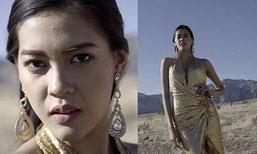 ສ່ອງແຟຊັນ ນຸ້ຍ ສຸພາພອນ Miss Universe Laos ໃນການຖ່າຍວິດີໂອແຟຊັນຄັ້ງທຳອິດທີ່ລາສເວກັສ