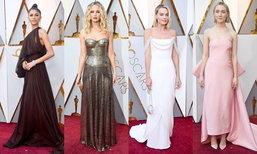 ງາມສະຫງ່າສຸດໆ ກັບແຟຊັ່ນເທິງພົມແດງໃນງານ Oscars ປີນີ້