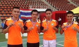 ນັກກີລາແລ່ນລານລາວຄວ້າຫຼຽນທອງ ໃນການແຂ່ງຂັນລາຍການ SEA Youth Athletic Championship ຄັ້ງທີ 13