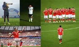 """ໜຶ່ງພາບລ້ານຄວາມໝາຍ! """"FIFA"""" ເຜີຍ 34 ພາບເດັດໃນຄວາມຊົງຈຳຂອງ ບານໂລກ 2018"""