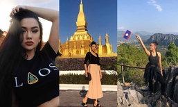 """ສາວ """"ໄພລິນ"""" ທີ່ຊາວເນັດເຊຍລົງຊີງມຸງກຸດ Miss Universe Laos ກັບມາທ່ຽວລາວອີກຄັ້ງ"""