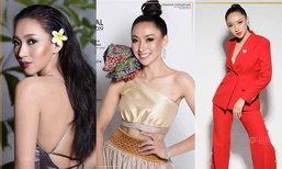 """ເລີດໆ """"ໝີພູ"""" ຄວ້າລາງວັນ Miss Fashion ຈາກເວທີ Miss Global ມາຄອງ"""