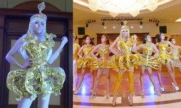 """ອະລັງການງານສ້າງ! ໄກ່ Overdance ຈັດເຕັມ ເຜີຍພາບ MV """"ນາງພະຍາ"""" ພ້ອມທີມເຕັ້ນໃນຊຸດສີຄຳສຸດເລີດ"""