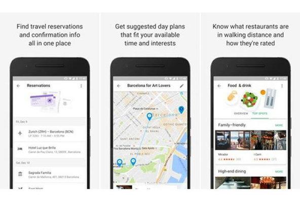 Google Trips ແອັບວາງແຜນທ່ອງທ່ຽວເດີນທາງທັງ Android ແລະ IOS