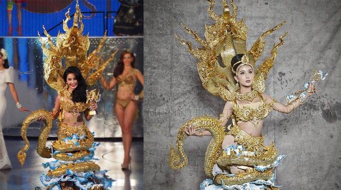 ນ້ອງວັນໃໝ່ ຄວ້າລາງວັນ ຊຸດປະຈຳຊາດດີເດັ່ນ ຈາກເວທີ Miss International Queen 2016