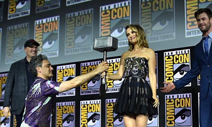 """ນາຕາລີ ພັອດແມນ ກັບມາໃນບົດບາດ """"ເທບສາຍຟ້າ ເວີຊັນຜູ້ຍິງ"""" ໃນ Thor: Love and Thunder"""