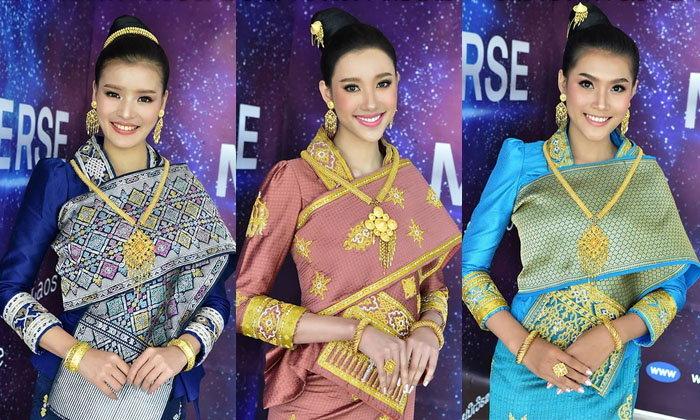 ສ່ອງຜູ້ເຂົ້າປະກວດ Miss Universe Laos 2019 ໃນຊຸດໄໝລາວສຸດງາມ ຮ່ວມຖ່າຍ VTR