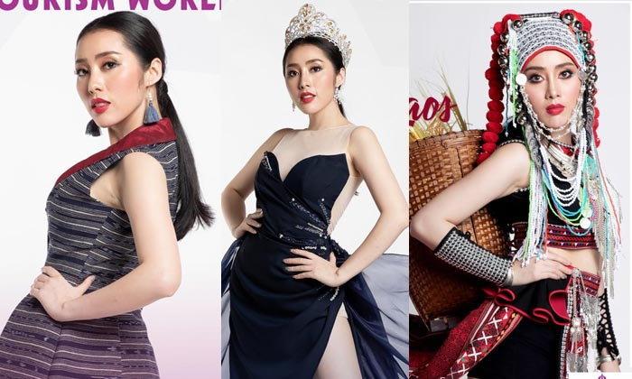 """ສົ່ງກຳລັງໃຈໃຫ້ """"ແອນນີ້ ນິດາກອນ"""" ໃນການປະກວດ Miss Tourism World 2019 ຮອບຕັດສິນ ຄືນນີ້"""