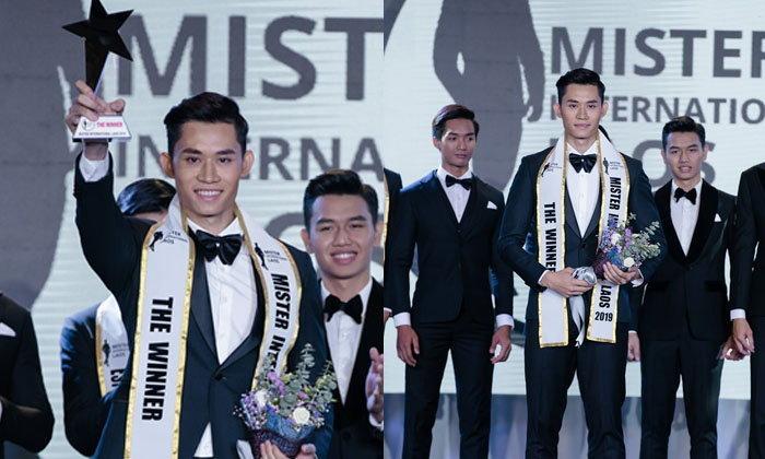 """""""ທະນູພົນ ໄຊຖາວອນ"""" ຄວ້າຕຳແໜ່ງ Mister International Laos 2019"""