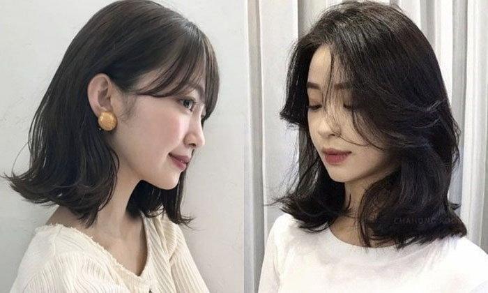 20 ຊົງຜົມ Medium Hair ຍາວຕົກບ່າແບບໜ້າຮັກໆ