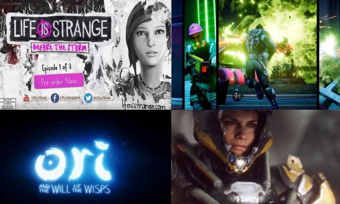 ຮວມຕົວຢ່າງເກມດັງທີ່ເປີດຕົວໃນງານ E3 ຂອງໄມໂຄຣຊອບ