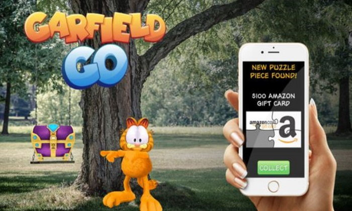 Pokémon GO ຫຼົບໄປ Garfield GO ມາແລ້ວ