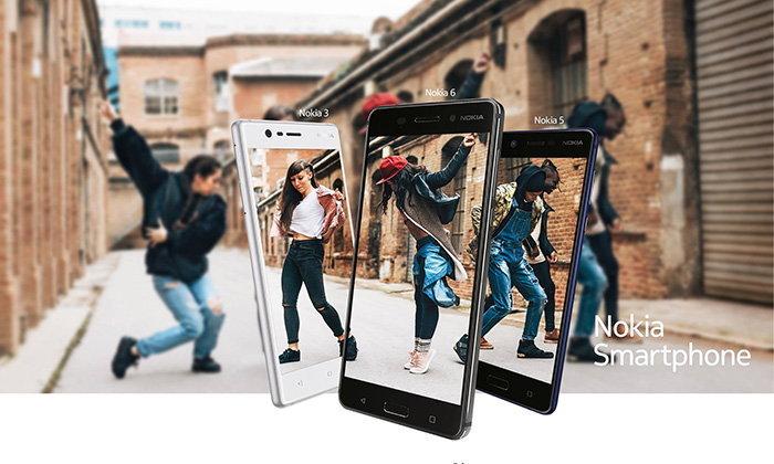 LTH ກຽມນຳ Nokia 3, Nokia 5 ແລະ Nokia 6 ເຂົ້າມາຂາຍໃນລາວ