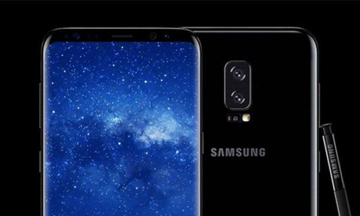 ຮູບຫຼຸດ! ໂປສເຕີ Galaxy Note 8: ກ້ອງຫຼັງຄູ່, ສະແກນລາຍນິ້ວມືດ້ານຫຼັງເຄື່ອງ