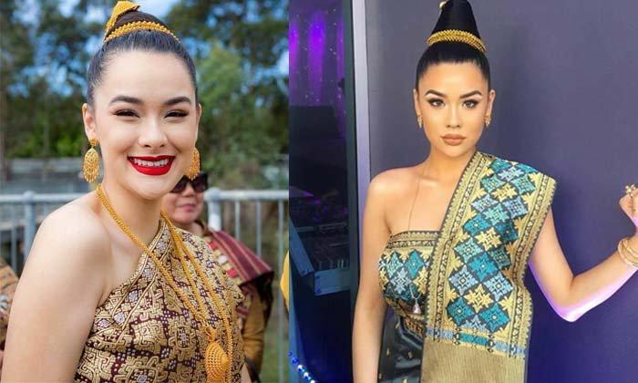 """ຄົນລາວເຊຍໃຫ້ລົງປະກວດ Miss Universe Laos """"ໄພລິນ ລັດທິປັນຍາ"""" ສາວທີ່ກໍາລັງໂດ່ງດັງໃນໂລກໂຊຊຽວ"""