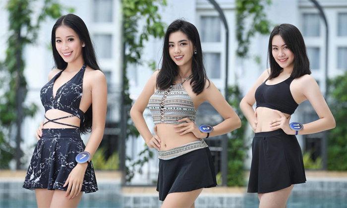 ຈັດເຕັມ! ລວມພາບສາວໆ Miss World Laos ໃນຊຸດລອຍນໍ້າເຊັກຊີ່ເບົາໆ