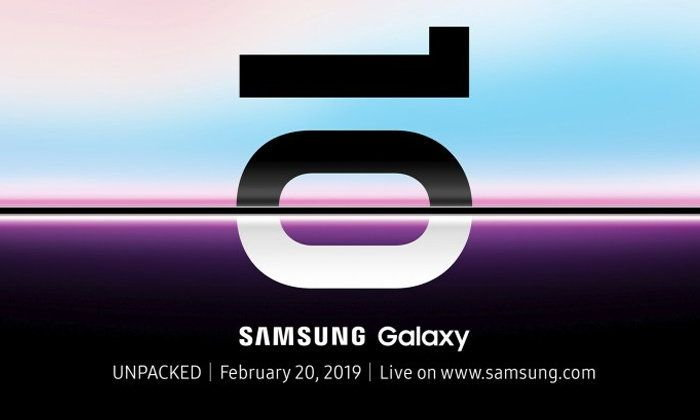 Samsung Galaxy S10 ຈະເປີດຕົວໃນວັນທີ 20 ກຸມພານີ້