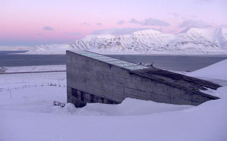 Svalbard Global Seed Vault. Flickr/Landbruks og matdepartementet