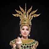 ເມ - ວາລິສະລາ ຕັງສຸວັນ Miss Global Laos 2017