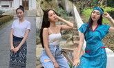 """ສ່ອງແຟຊັນ """"ໝີພູ"""" Miss Global Laos 2019 ທ່ອງແດນມໍລະດົກໂລກ"""