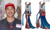 ໜຸ່ມນັກອອກແບບຊະນະການປະກວດຊຸດປະຈຳຊາດ Miss Universe Thailand 2019 ຫຼັງສົ່ງເຂົ້າປະກວດມາກວ່າ 11 ປີ