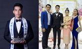 """""""ບອຍ ໄຊຍະເວດ"""" Mister United Asia 2018 ສະຫຼະໂສດ ເຂົ້າພິທີວິວາມຸງຄຸນແລ້ວ"""
