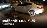 ຄົນລາວເສຍຊີວິດຈາກອຸບັດເຫດກວ່າ 1,000 ຄົນຕໍ່ປີ