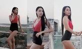 """ຈັດວ່າເລີດ! """"ນົບພະລັດ ສີໄກພັກ"""" Miss Grand Laos 2018 ອວດຫຸ່ນງາມພ້ອມຄວາມໝັ້ນໃຈໃນຊຸດລອຍນໍ້າ"""