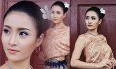 ຟ້າໃສ Miss Grand Laos ກັບຊຸດຜ້າໄໝລາວ ສະຫງ່າງາມສົມເປັນສາວລາວຫລາຍໆ